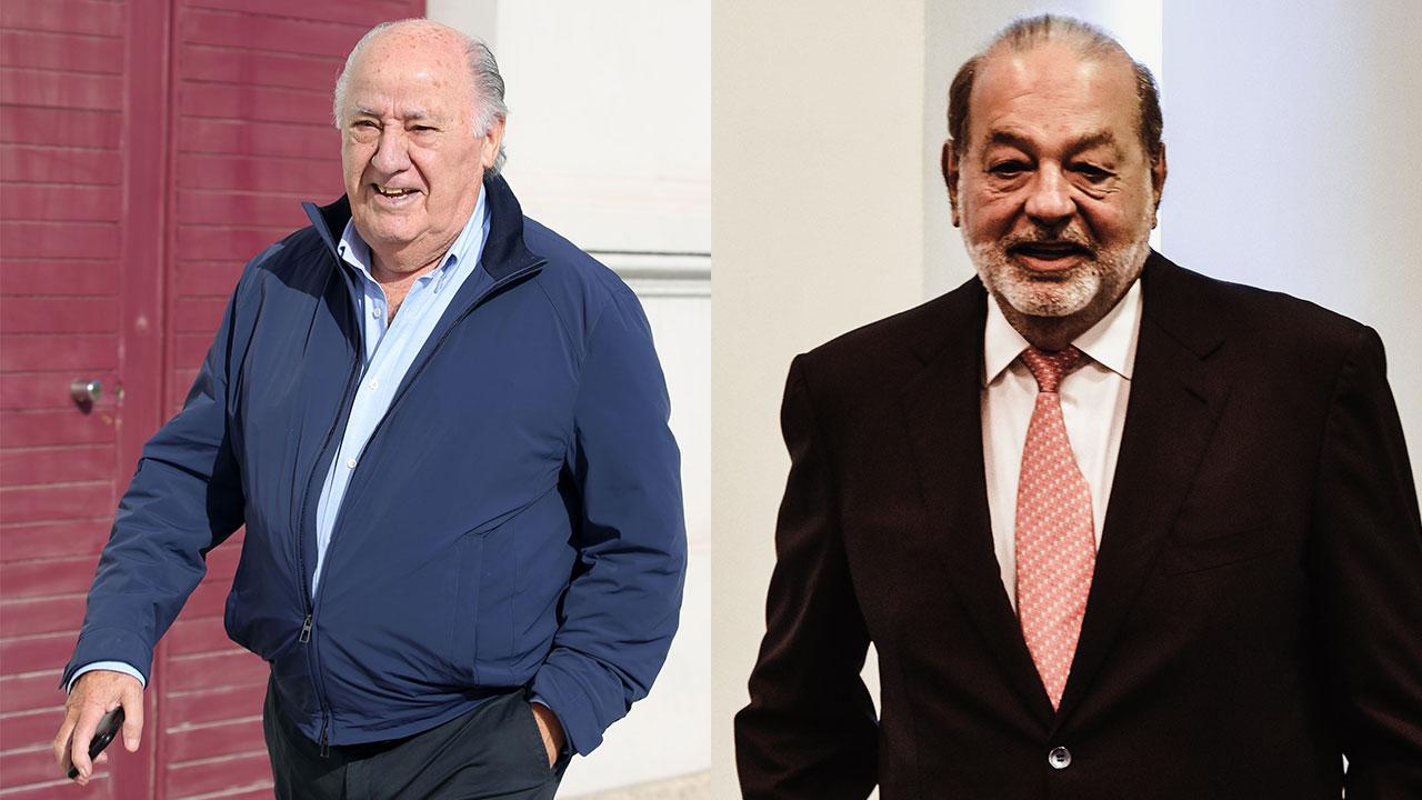El 'lunes negro' le pegó a Carlos Slim, Amancio Ortega y otros multimillonarios de Forbes