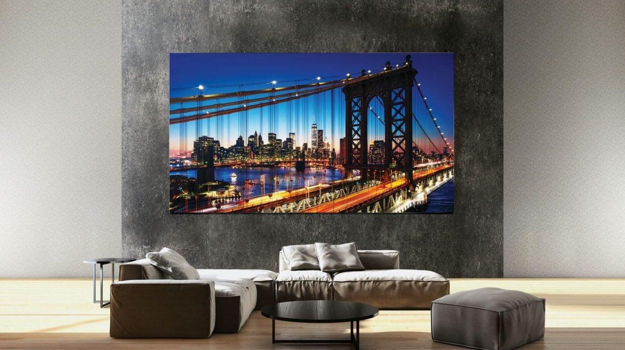 Samsung presenta primer televisor 8K del mundo