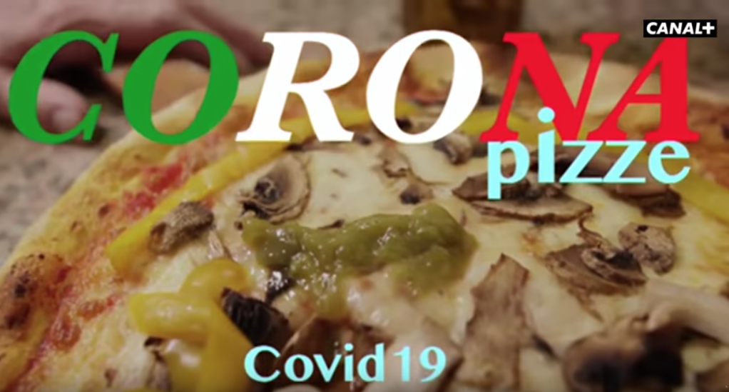 TV francesa se burla del brote de coronavirus en Italia; culpa a la pizza