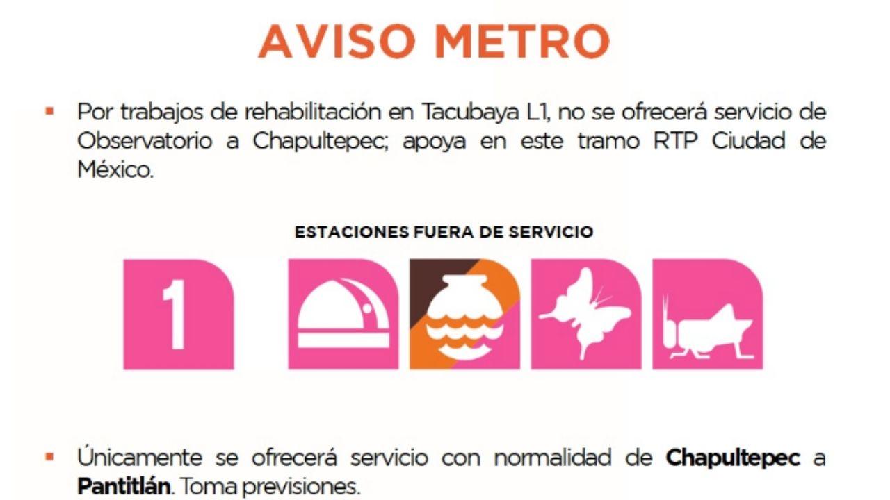 Choque de metro CDMX