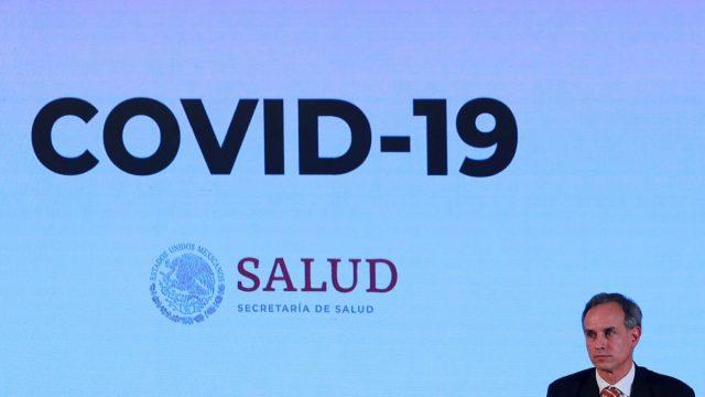 Casos positivos y muertes coronavirus Mexico