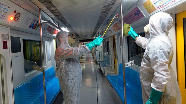 Coronavirus Teherán