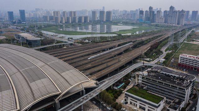 Coronavirus China Covid-19 Wuhan Estacion de Tren