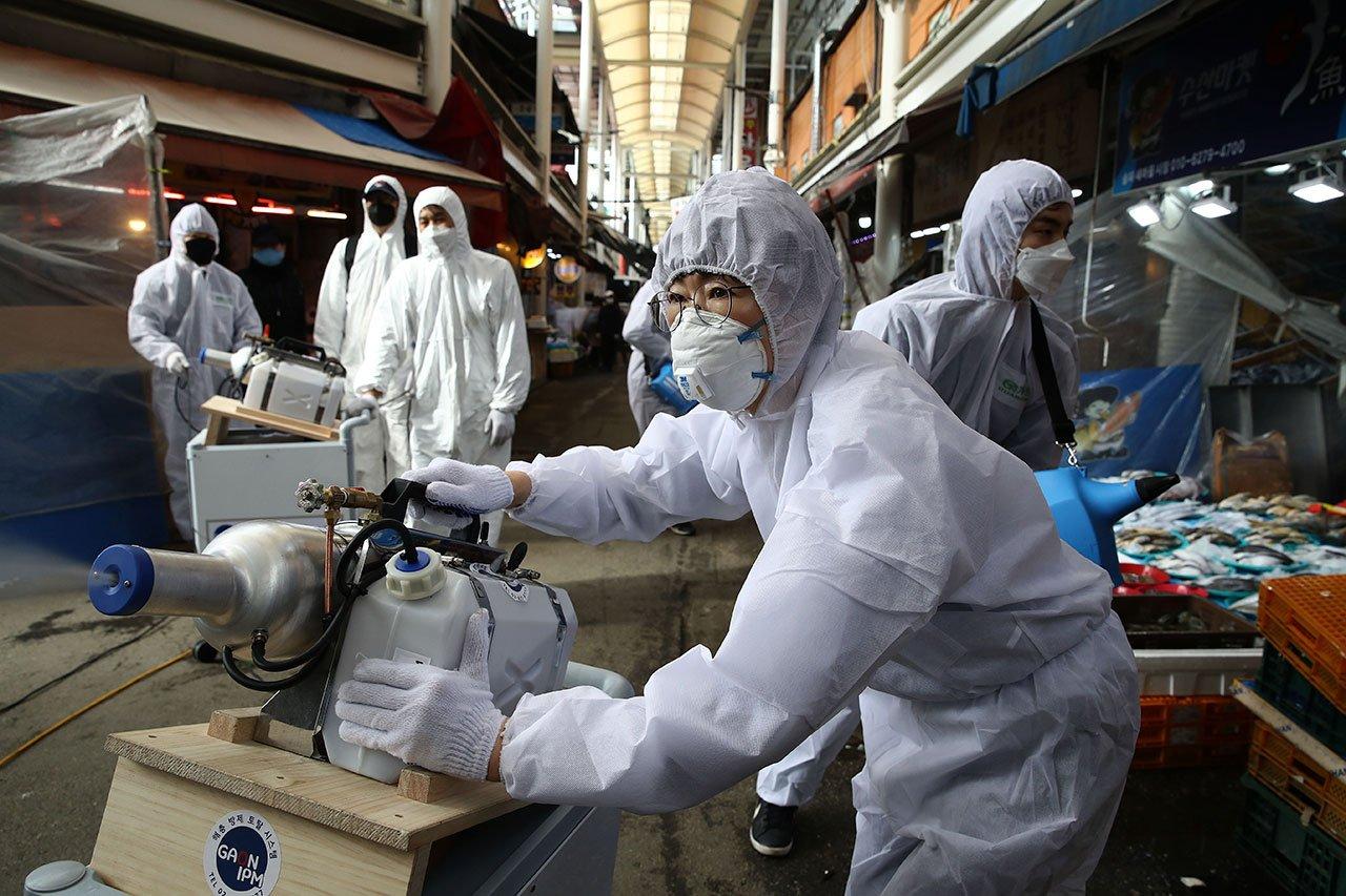 """El coronavirus se """"reactiva"""" en 91 pacientes recuperados en Corea del Sur"""