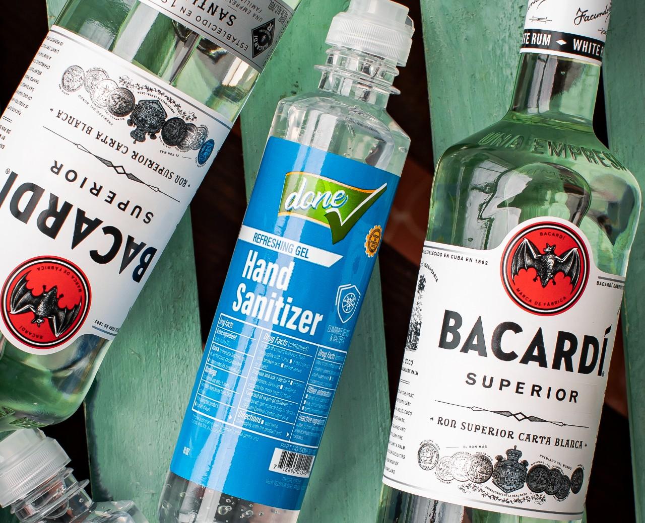 Bacardí produce 1.1 millones de litros de gel antibacterial a nivel global por contingencia