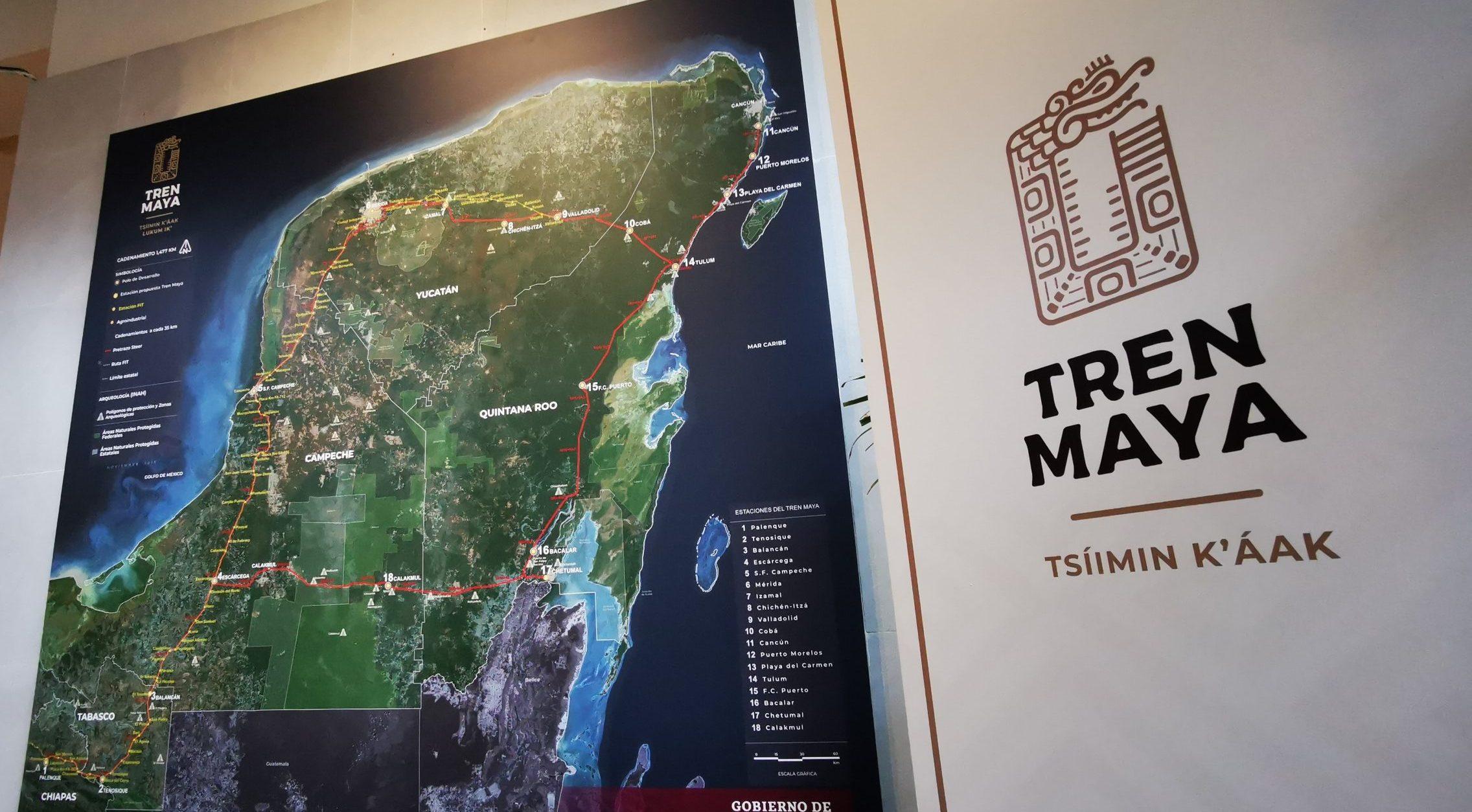 El Tren Maya tendrá doble vía de Cancún a Mérida y Tulum