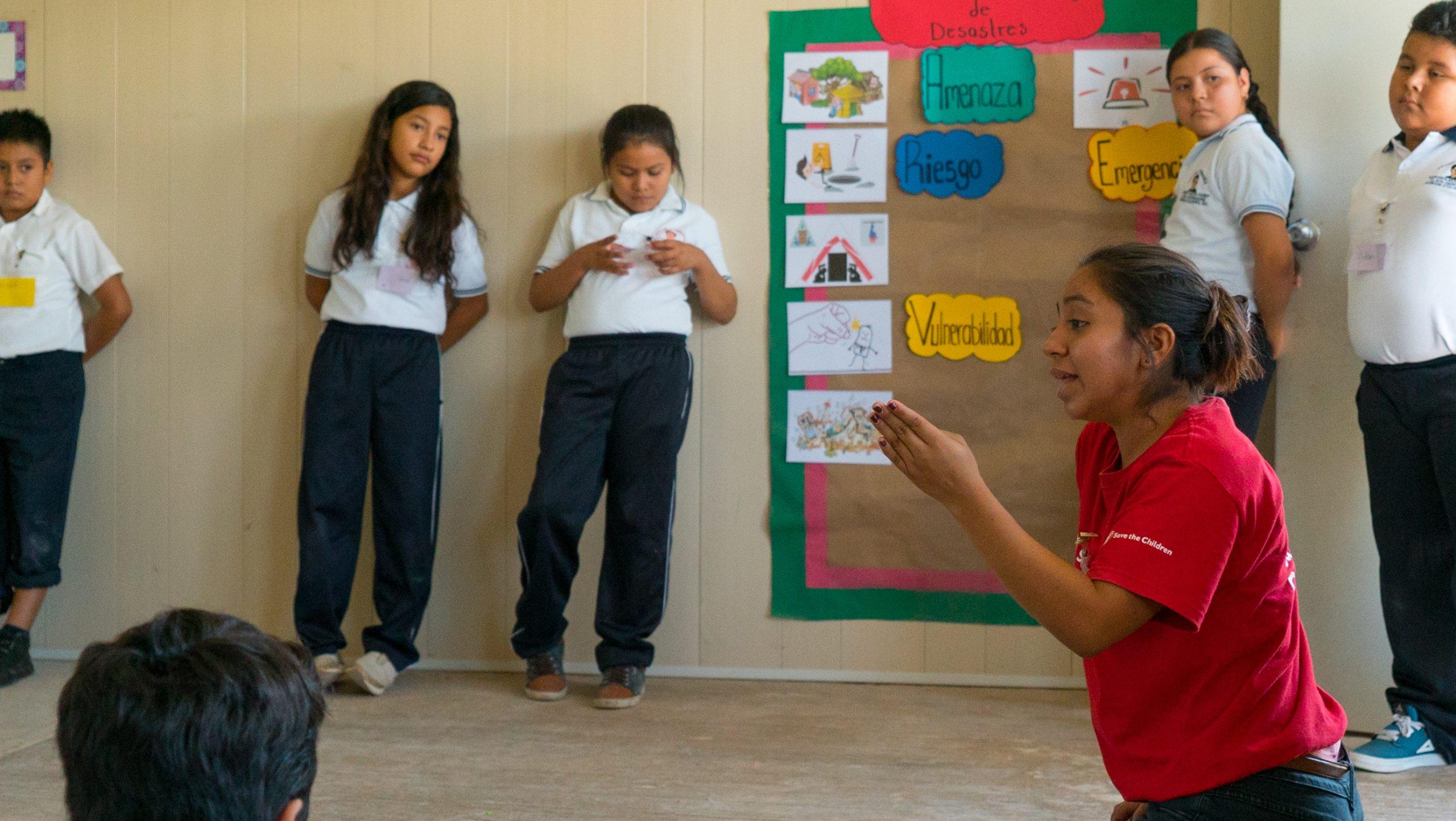 Por una niñez sin riesgos, el programa de Save the Children que hace escuelas más seguras