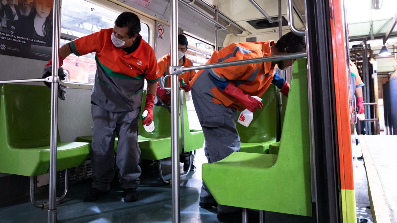 Al 75%, trabajos en línea 3 del Metro CDMX para su operación