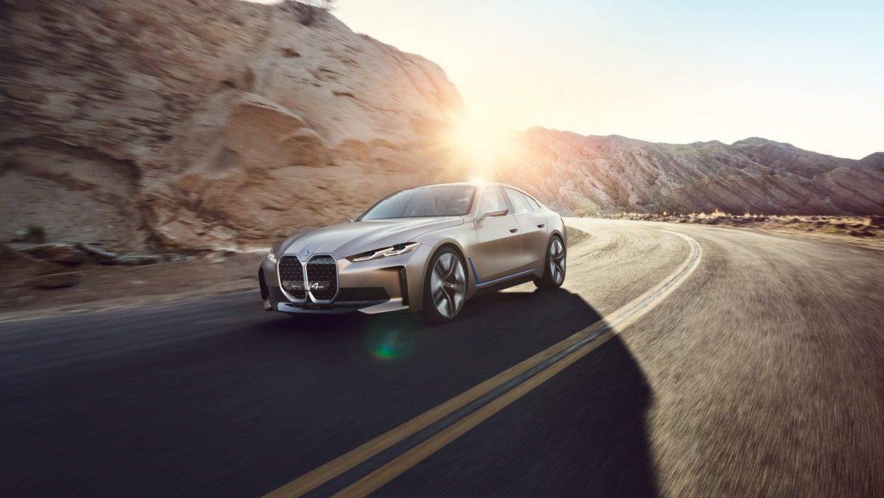 BMW presenta Concept i4, un auto eléctrico con sonido propio