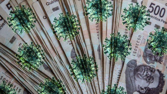 Peso bolsa coronavirus baja depreciación sin inversionistas