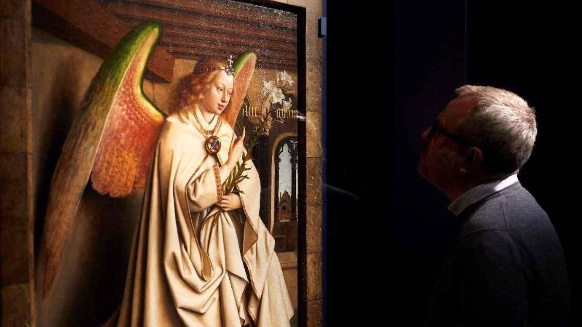 Dos burgueses sin hijos tras la 'Revolución Óptica' de Van Eyck