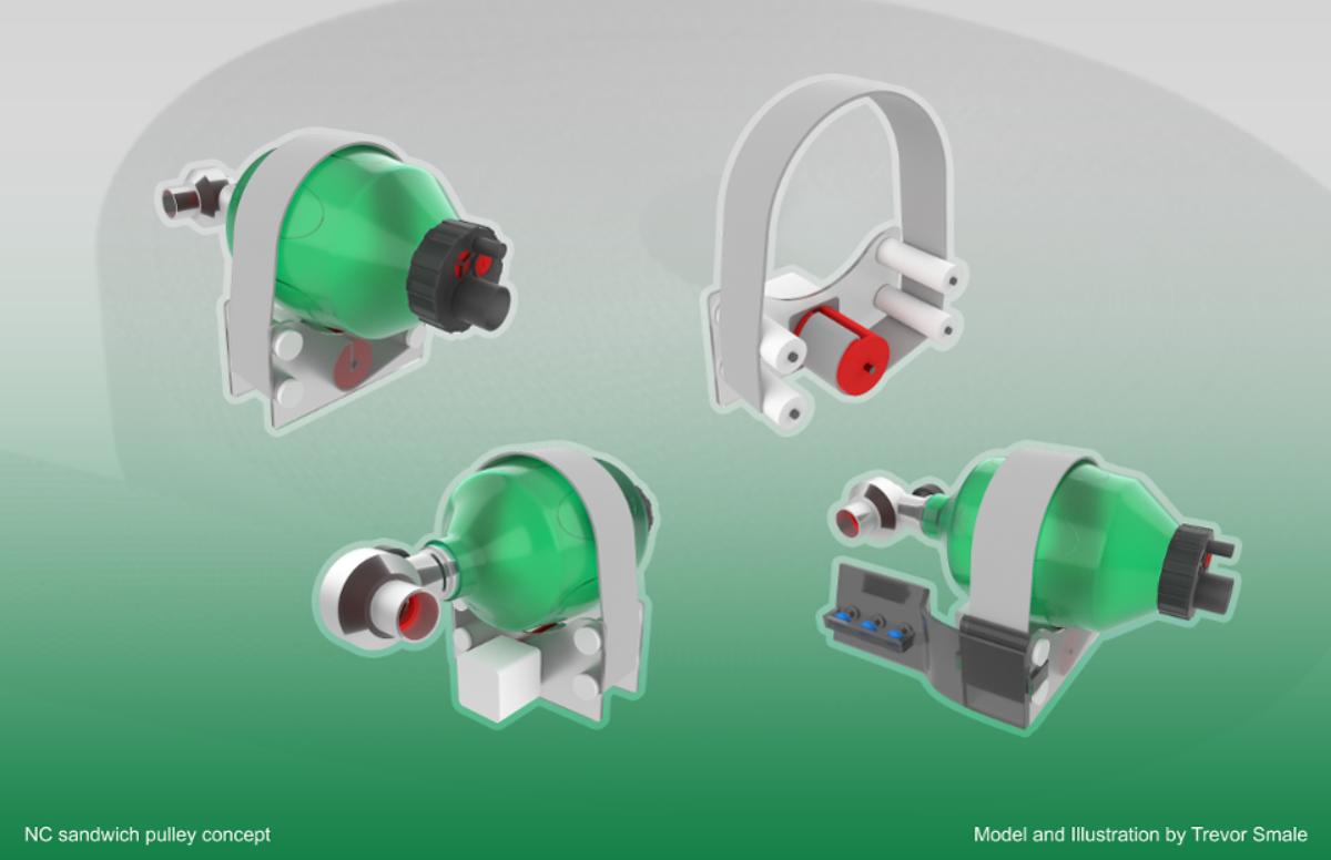 Grupo internacional crea ventilador ecológico para evitar su escasez por coronavirus