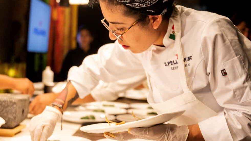 Xrysw Ruelas, la mexicana en la final de S. Pellegrino Young Chef