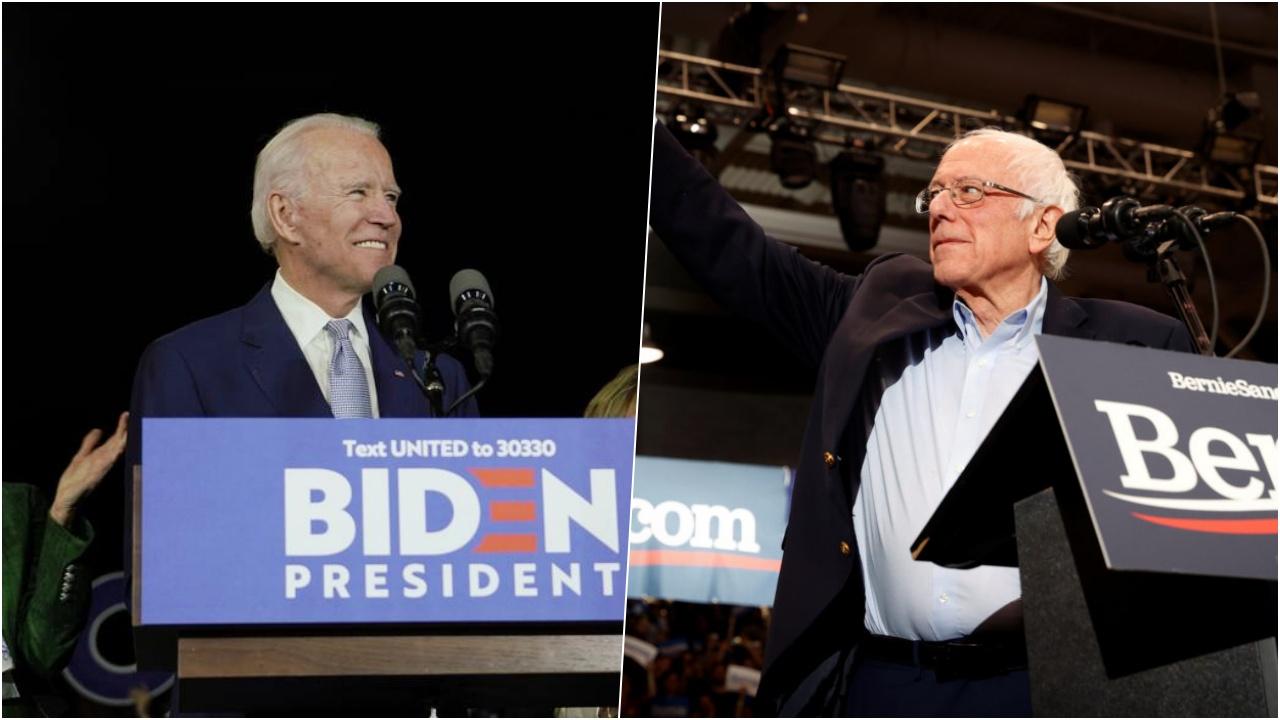 Biden se perfila como el ganador del Supermartes; Sanders le sigue el paso