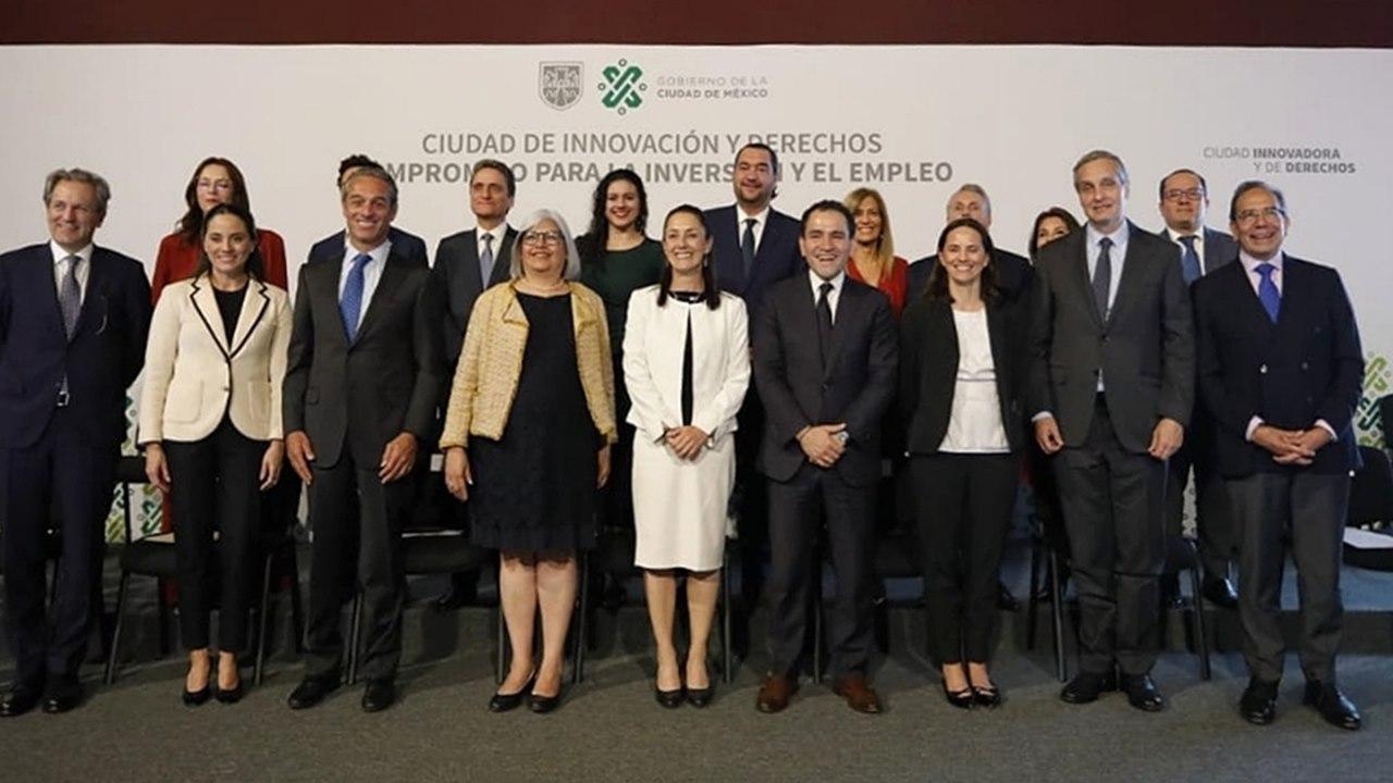 Empresarios comprometen inversiones millonarias en CDMX; gobierno ofrece agilidad