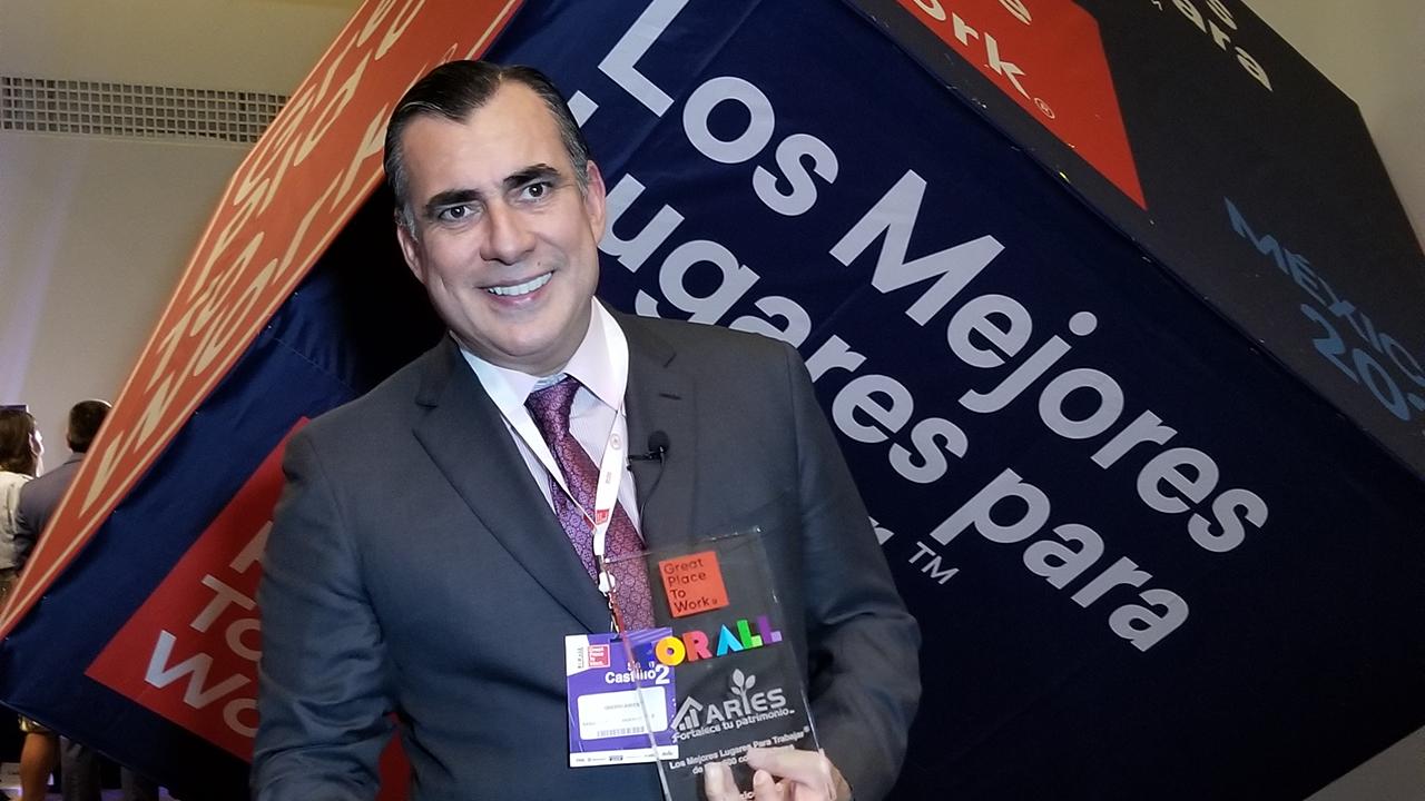 Grupo Aries, en el ranking de las mejores empresas para trabajar en México