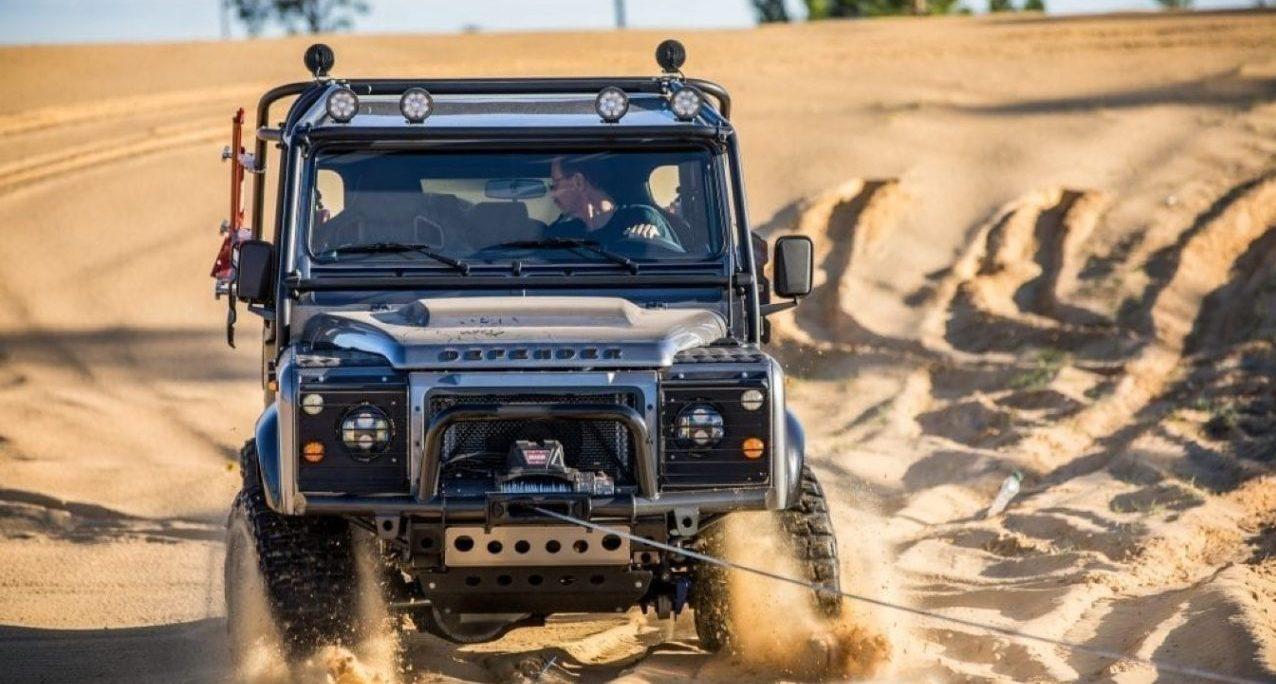 Land Rover Defender Project Viper, para que nadie se meta contigo