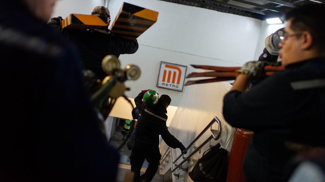 Dictamen de choque en el Metro, en 2 semanas; descartan daños en cajas negras