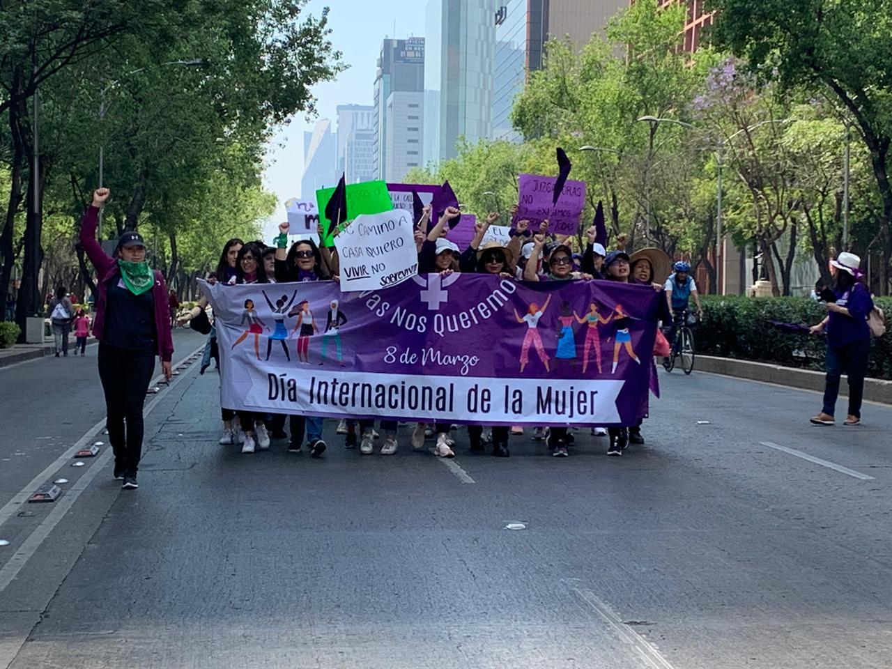 Minuto a Minuto | Sigue en vivo la marcha8M en el Día Internacional de la Mujer