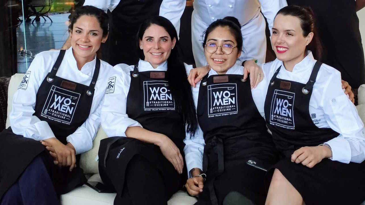 Cuatro chefs mexicanas… Decididas a transcender