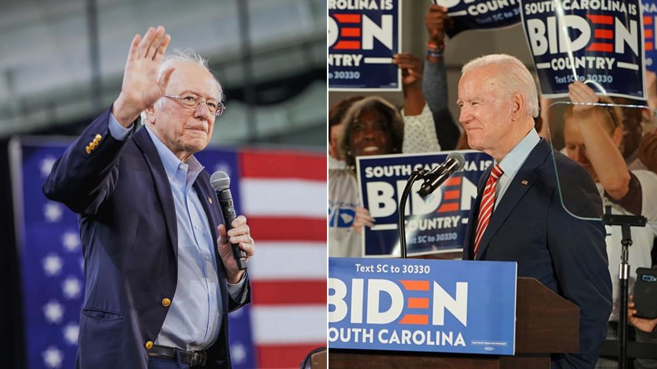 Con victorias para Sanders y Biden, el Supermartes comienza a definirse