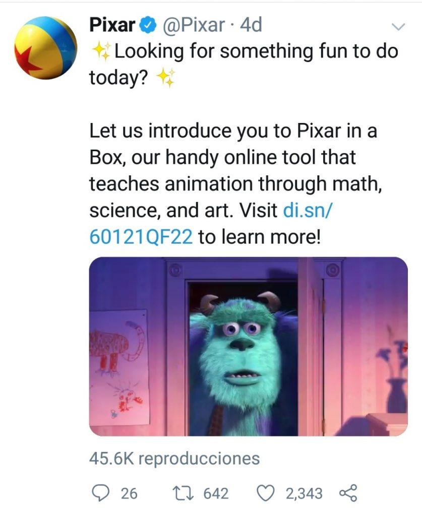 Pixar compañía de animación digital