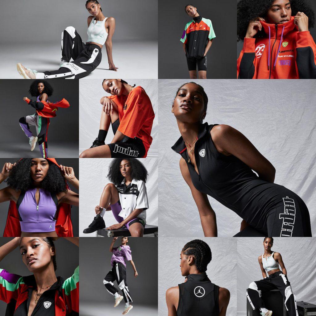 colección de moda Jordan
