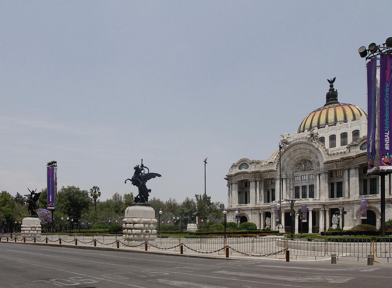 Coronavirus Turismo Bellas Artes COVID-19