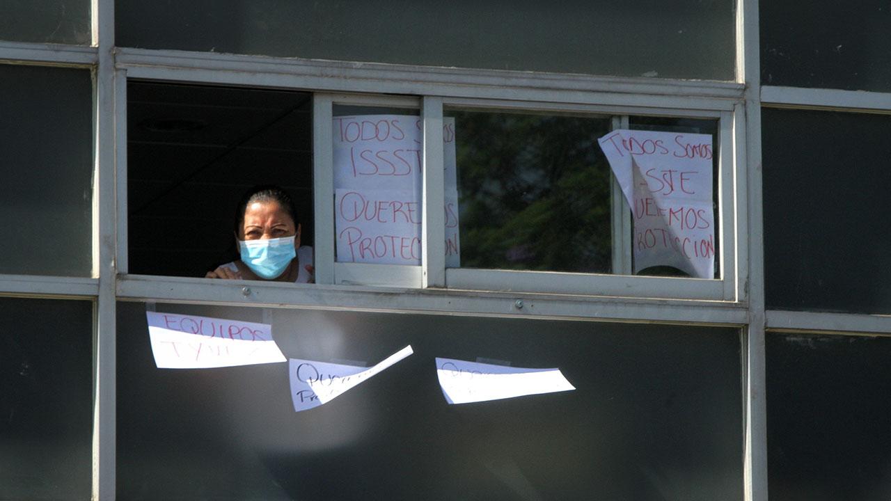 Coronavirus Trabajadores del ISSSTE