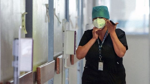 Coronavirus Enfermera Enfermeros