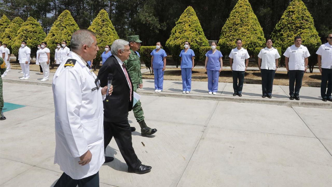 Médicos cubanos vendrán sólo si es necesario: AMLO