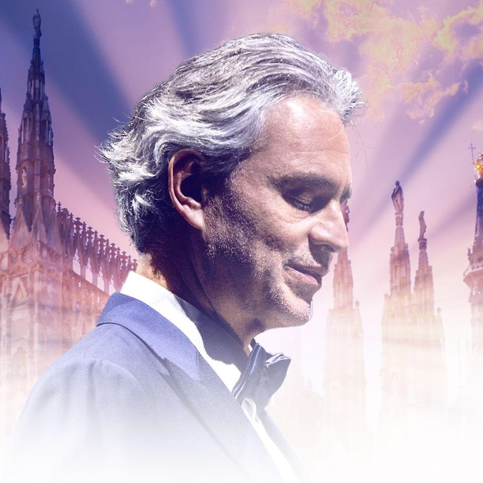 Andrea Bocelli en concierto desde el Duomo de Milán: ¡Escúchalo AQUÍ!