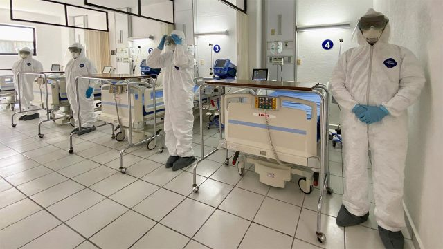 CORONAVIRUS HOSPITAL MILITAR MEXICO