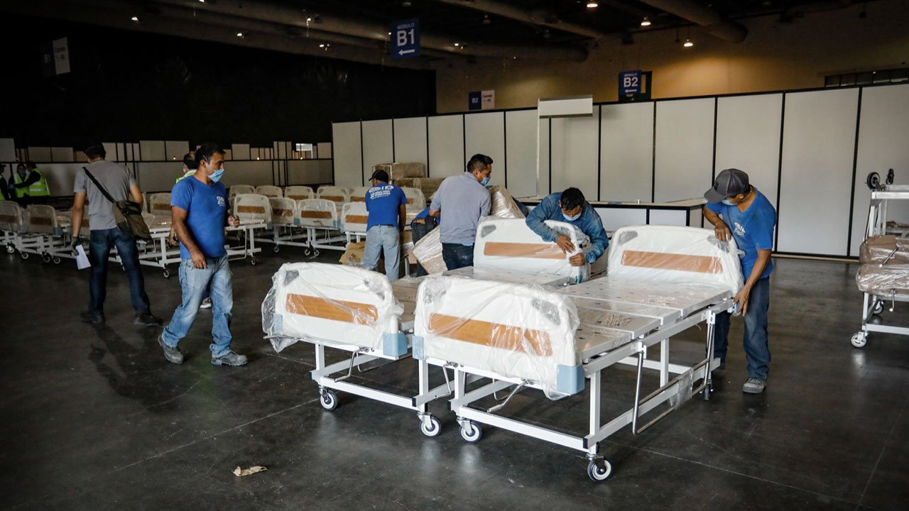 Coronavirus Hospital Provisional Citibanamex