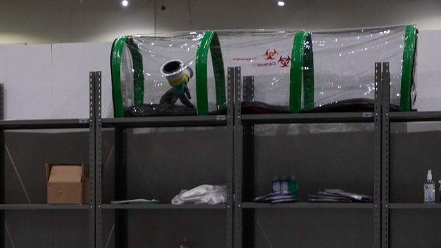 Coronavirus Hospital Temporal Citibanamex