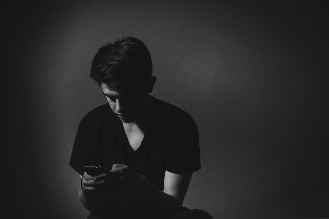 Depresión en joven