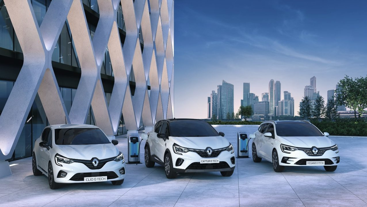 Renault presenta su renovada gama de autos eléctricos