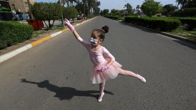 Coronavirus Iraq dancer girl Leyan Karam