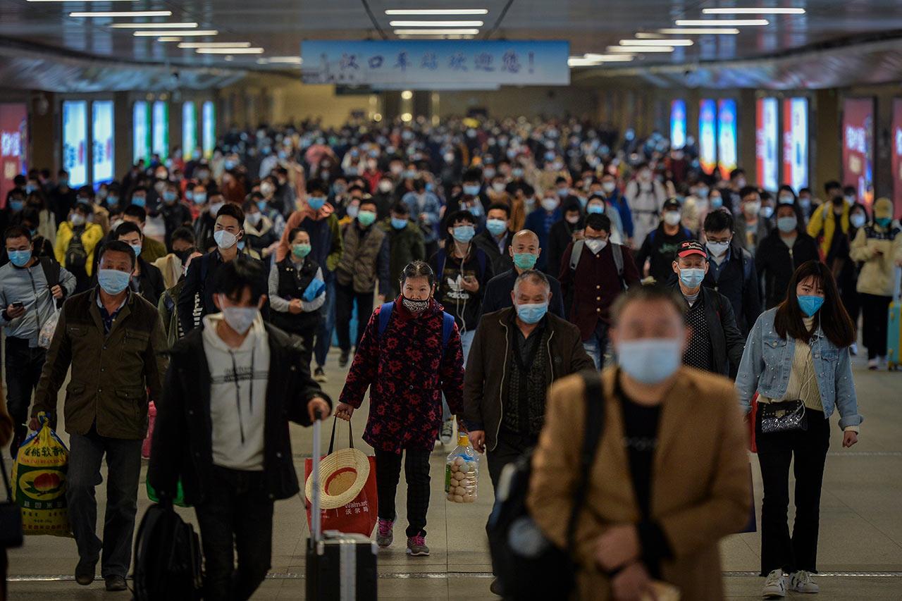 China reporta primeros casos de Covid-19 en más de tres semanas