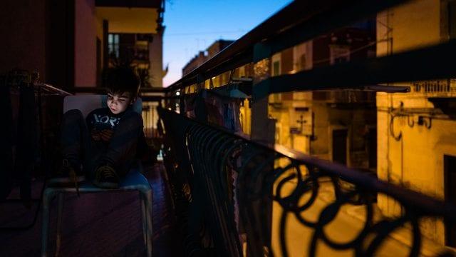 Coronavirus Italia Quarantined Life Of Children During The COVID-19