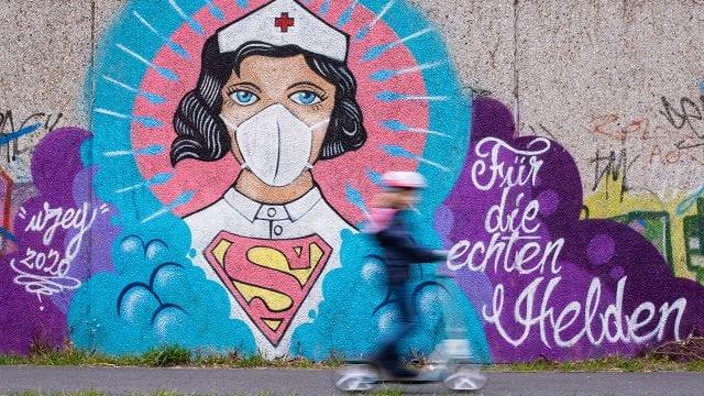 Coronavirus Inspires World Street Art