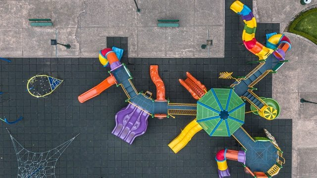 Playgrounds Stand Empty During Coronavirus Lockdown In Mexico City