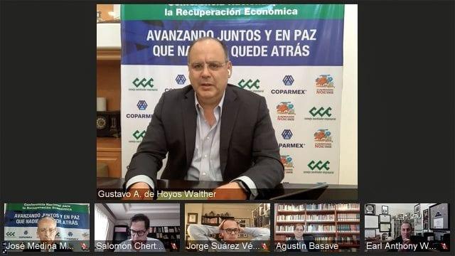Gustavo Hoyos COPARMEX