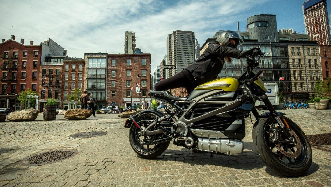 LiveWire la moto eléctrica de Harley Davidson que causa sensación