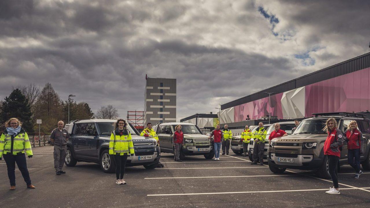 Jaguar Land Rover se pone la camiseta para apoyar ante el coronavirus