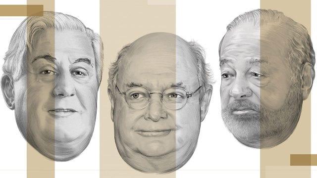 Millonarios Mexicanos Antonio del Valle Juan Beckmann Carlos Slim