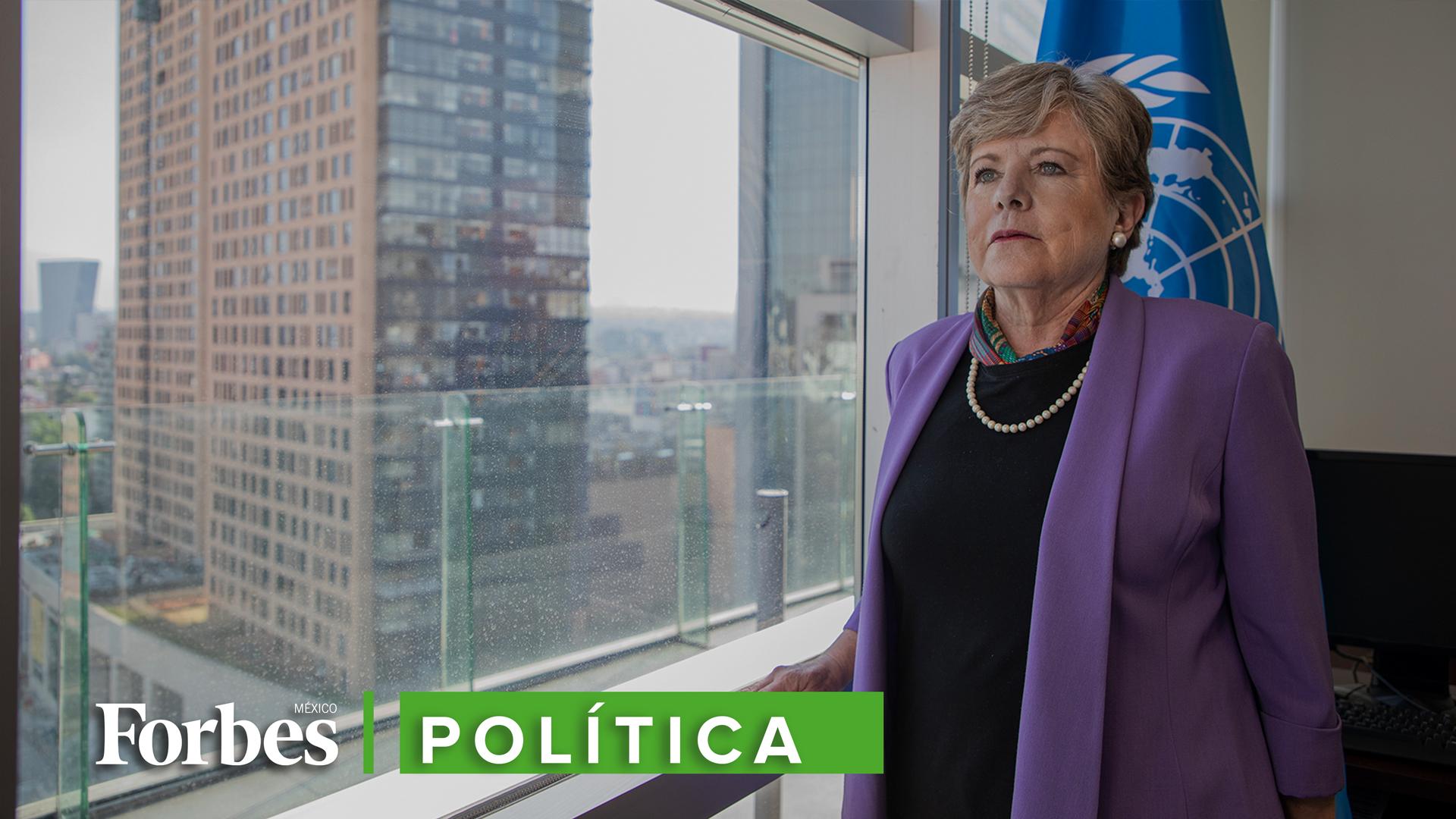 Alicia Bárcena: La desigualdad tiene varias caras