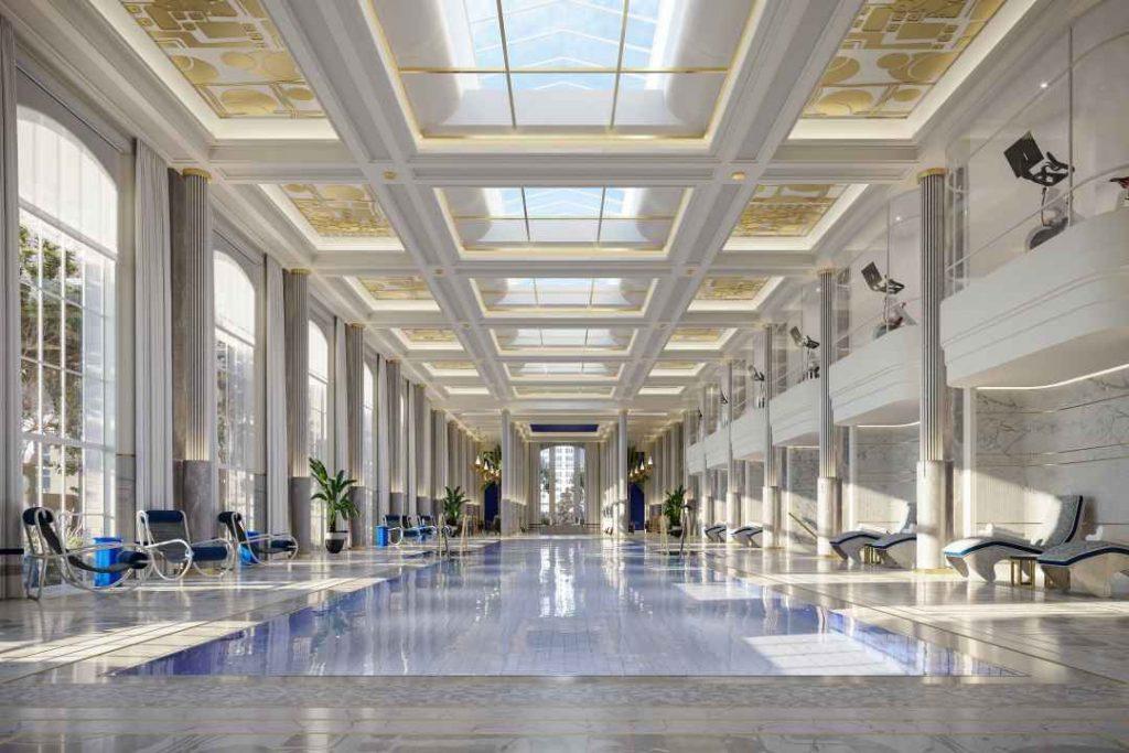 Piscina en Waldorf Astoria NY