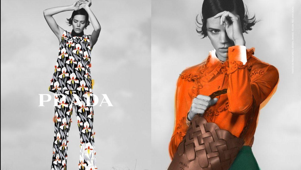 Moda y arte se mezclan en esta enigmática propuesta de Prada