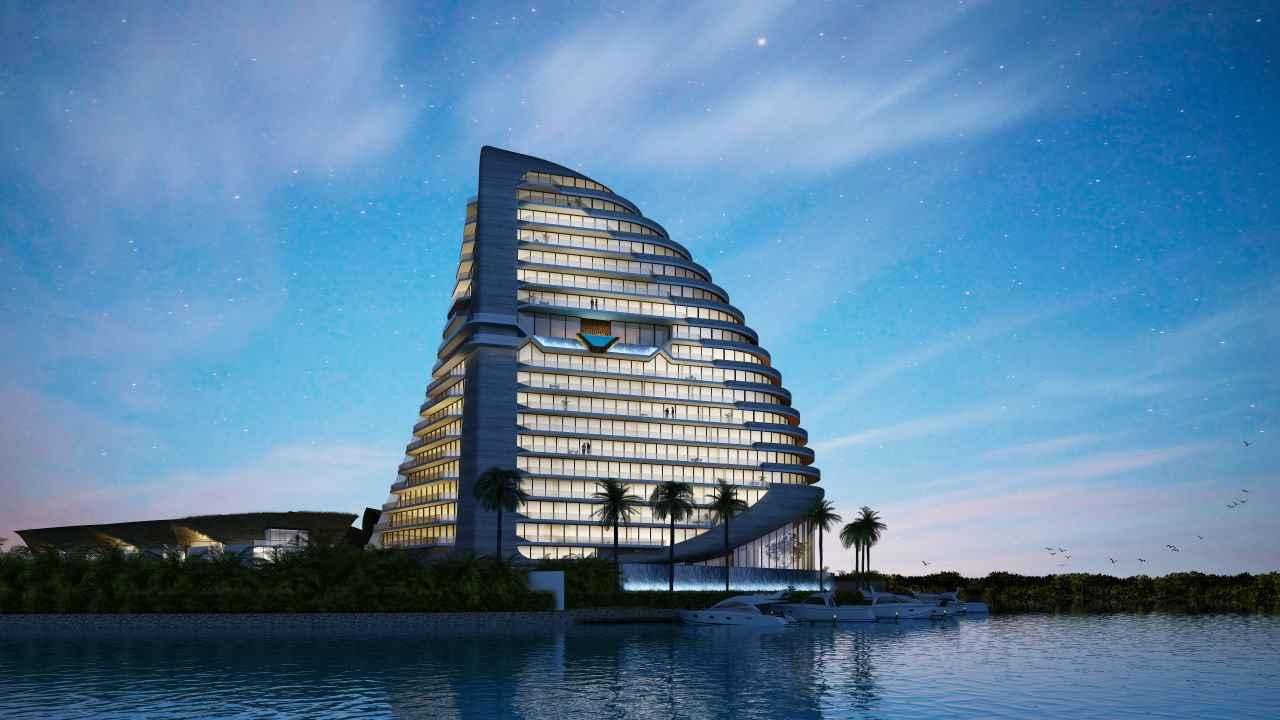 Así será Shark Tower, la edificación que ayudará a preservar tiburones